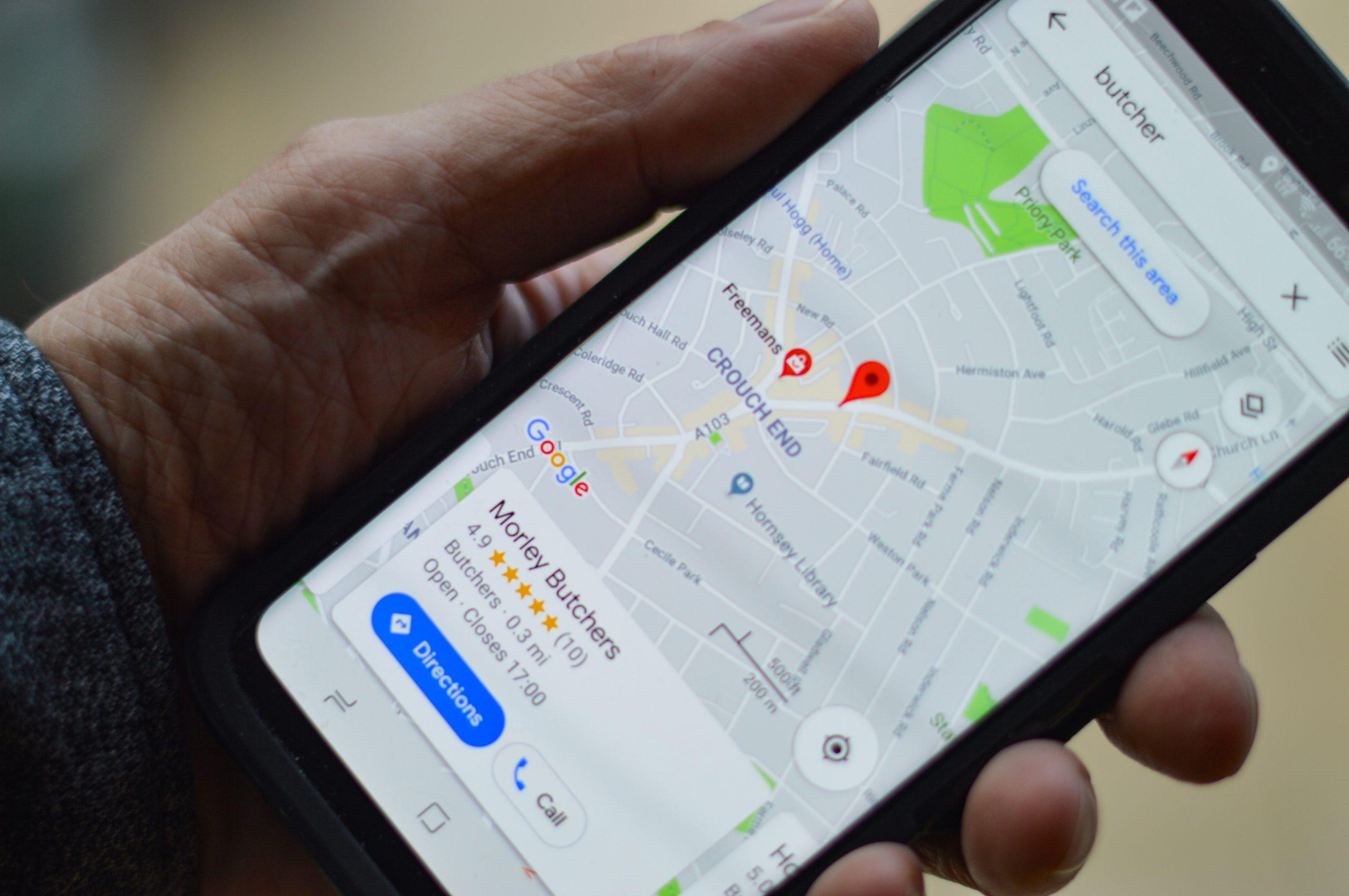 Google Maps - Map